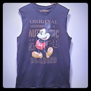 Disney Mickey Mouse Sleeveless Shirt Classic 1928
